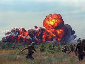 Napalm Strike by Associated Press