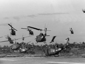Vietnam Helicopter Assault by Associated Press