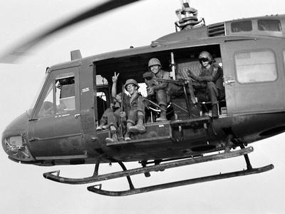 Vietnam War U.S. GI Peace Sign
