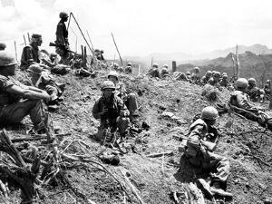 Vietnam War U.S. Hamburger Hill by Associated Press