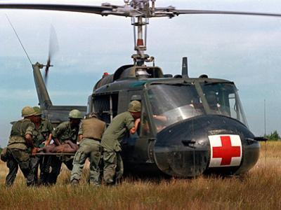 Vietnam War U.S. Helicopter by Associated Press