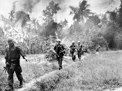 Vietnam War U.S. Marines Da Nang by Associated Press