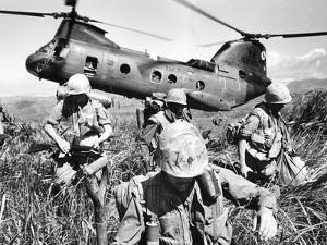 Vietnam War U.S. Marines by Associated Press