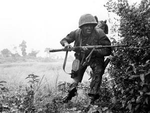 Vietnam War U.S. Soldier by Associated Press
