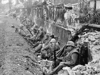 Vietnam War US Marines Hue by Associated Press