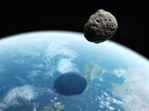 Asteroid Approaching Earth, Artwork
