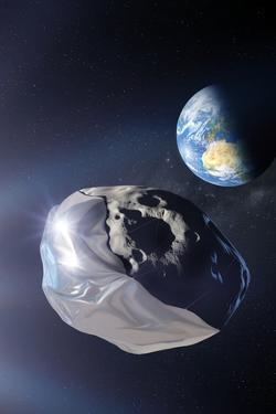Asteroid Deflection Using Foil