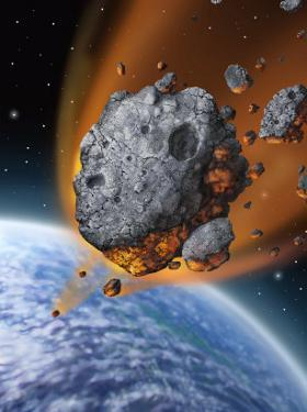 Asteroid Hurtling Towards Earth