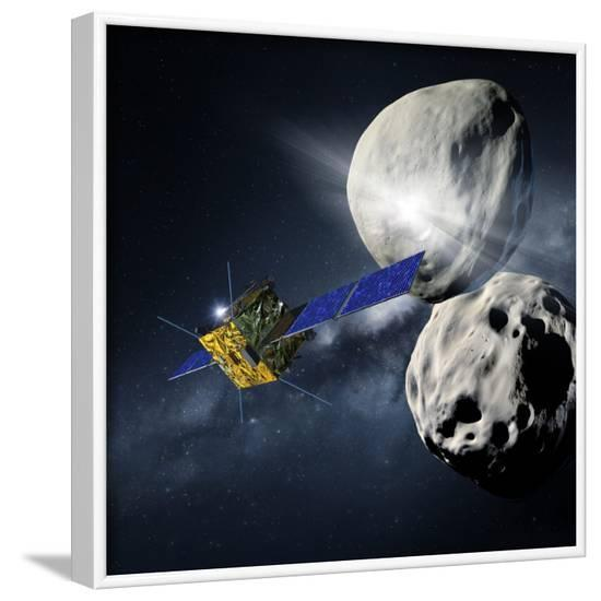 Asteroid Impact Mission--Framed Photographic Print