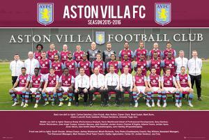 Aston Villa- Team 15/16