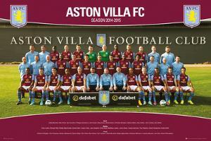 Aston Villa Team Photo 14/15