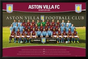 Aston Villa Team Photo 14/15
