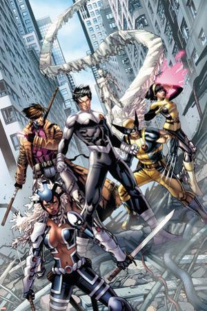 Astonishing X-Men No. 50: Northstar, Warbird, Wolverine, Gambit, Karma, Iceman