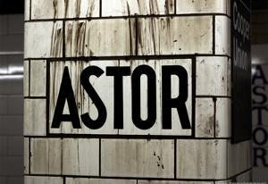 Astor Place Subway Station NYC
