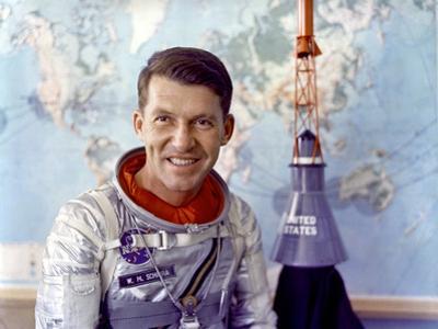Astronaut Walter Schirra