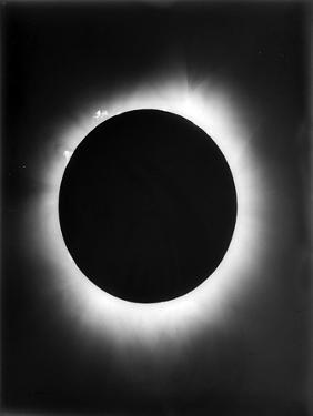 Astronomy, a Solar Eclipse, 1926