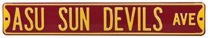 ASU Sun Devils Ave Steel Sign