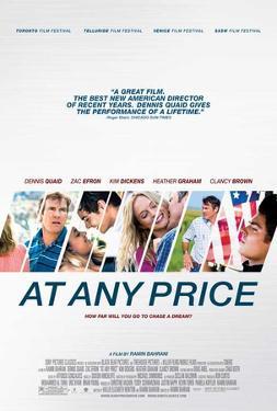 At Any Price (Denis Quaid, Zac Efron, Kim Dickens) Movie Poster