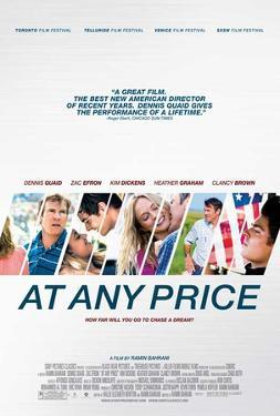 At Any Price (Denis Quaid, Zac Efron, Kim Dickens) Movie Poster