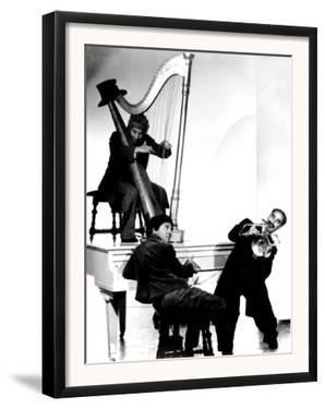 At the Circus, Harpo Marx, Bottom Chico Marx, Groucho Marx, 1939