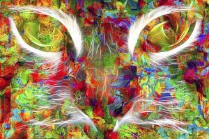 Cat Abstract by Ata Alishahi