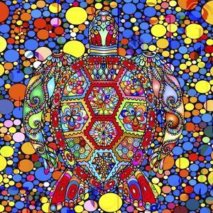 Colorful Turtle by Ata Alishahi