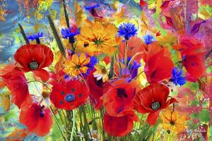 Garden Of Flowers M6 by Ata Alishahi
