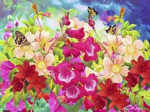 Garden Of Flowers M8 by Ata Alishahi