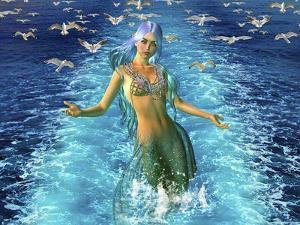Mermaid Play by Ata Alishahi