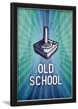 Atari Old School Video Game Poster Print