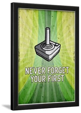 Atari You Never Forget Your First Video Game Poster Print