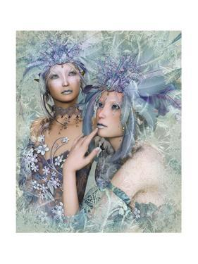 2 Winter Elves by Atelier Sommerland