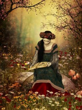 A Woman Reading A Book by Atelier Sommerland