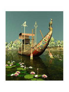 Egyptian Barge by Atelier Sommerland