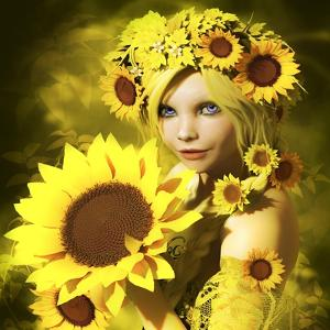 Sunflower Girl by Atelier Sommerland
