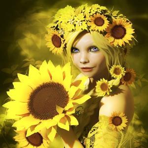 Sunflower Girl by Atelier Sommerland