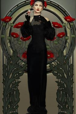 Victorian Beauty In Black by Atelier Sommerland