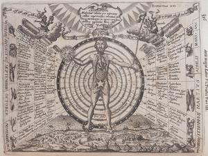 An Astrological Chart, 1646 by Athanasius Kircher