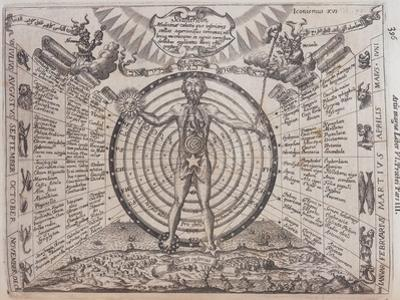 An Astrological Chart, 1646 by Athanasius Kircher