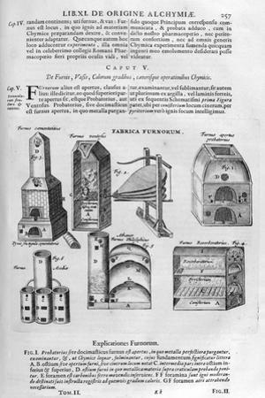 Furnaces, 1678 by Athanasius Kircher