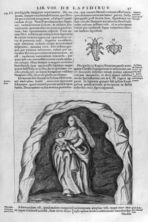 Virgin and Child, 1678 by Athanasius Kircher