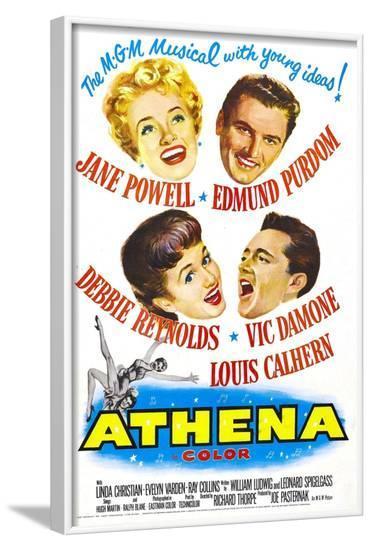 Athena--Framed Art Print