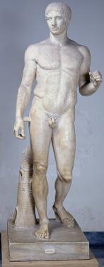 Athlete, Roman Copy after an Original by Polykleitos in Pompeii