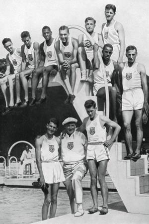 Athletes at the Us Olympic Trials, 1932