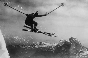 Athletic Skier