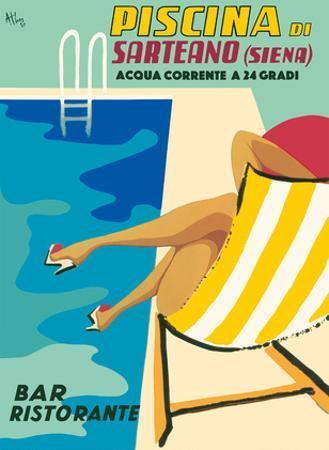 Sarteano Swimming Pool Resort - Siena, Italy - Bar Restaurant (Ristorante) by Athoy