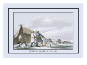 Russian Winter Fishing by Atkinson