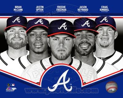 Atlanta Braves 2013 Team Composite