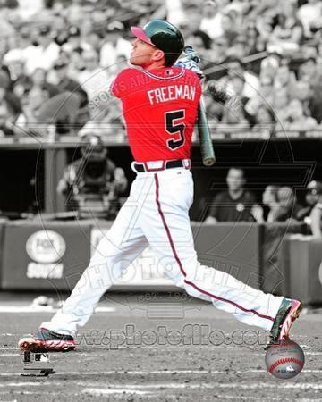 Atlanta Braves - Freddie Freeman Photo