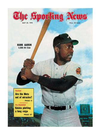 Atlanta Braves OF Hank Aaron - May 23, 1970